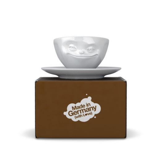 Tassen Grinning espressokop
