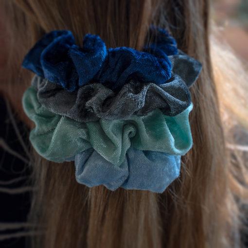 bekmose scrunchie hårelastik