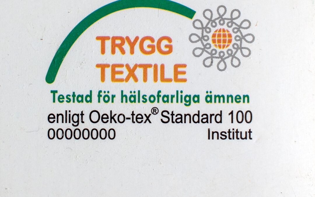 bekmose økotex oeko-tex mærke økologi