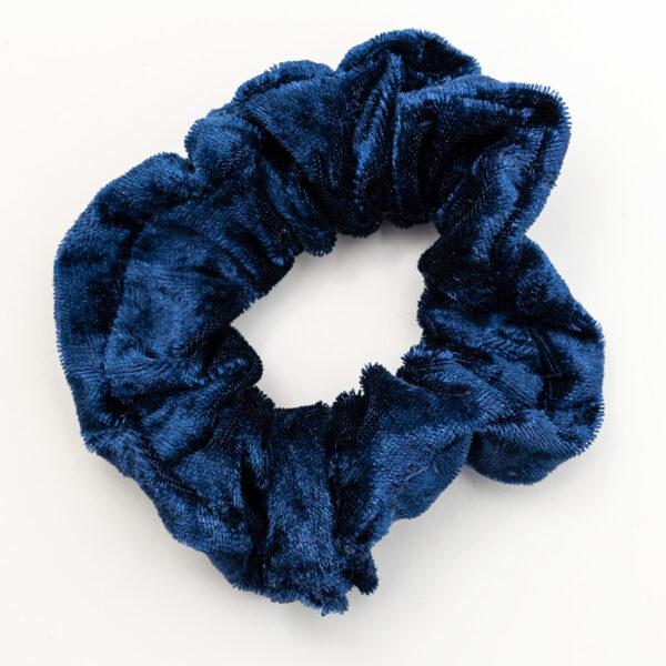 bekmose scrunchie midnatsblå