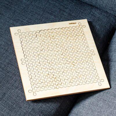 Bekmose Behappi træpuslespil medium puzzle skandi