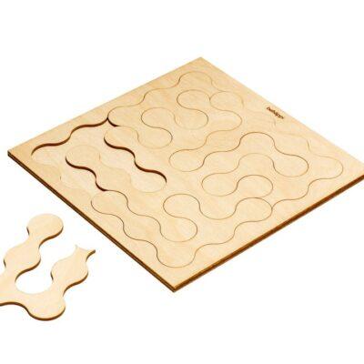 bekmose behappi træ wood wooden puslespil puzzle børn kids