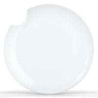 Bekmose Tassen lille tallerken med bid ø15