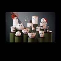 Bekmose Tassen skærebrædt julestemning