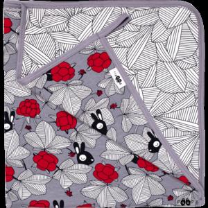 bekmose Paapii design baby tæppe økologisk