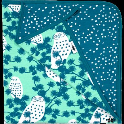 bekmose paapii babytæppe blanket økologisk